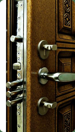 современные накладки на входные двери