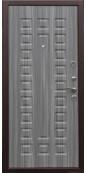 Дверь Титан Мск - ПП 105 Сенатор, Венге / Сандал серый ФЛ-183
