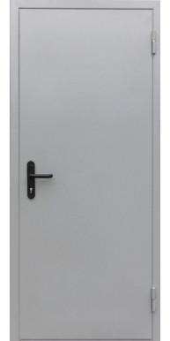 Противопожарная входная металлическая дверь ДПМ-01/60 Ei-60 цвет серый RAL 7035