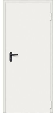 Противопожарная входная металлическая дверь ДПМ-01/60 Ei-60 цвет белый RAL 9016