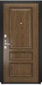 Дверь Титан Мск - Lux-4, Черный муар/ Фемида-2 26 мм., светлый мореный дуб