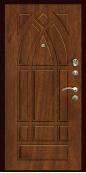 Входная дверь Титан Мск,  К-13, орех мореный