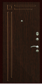 Входная дверь Титан Мск,  П-10, орех премиум