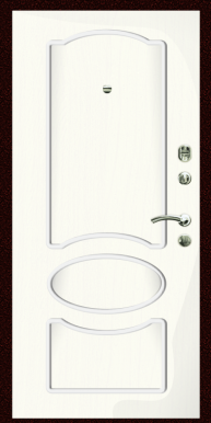 Входная дверь Титан Мск,  К-4, ясень белый