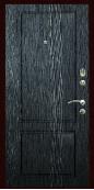 Входная дверь Титан Мск,  П-1, черное серебро