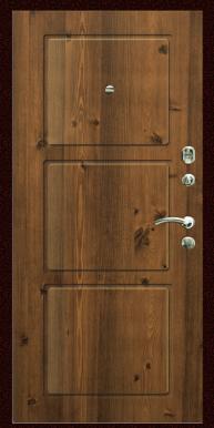 Входная дверь Титан Мск,  К-5, старый дуб