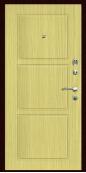 Входная дверь Титан Мск,  П-9, дуб беленый