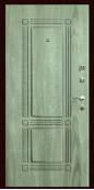 Входная дверь Титан Мск,  К-8, серое дерево