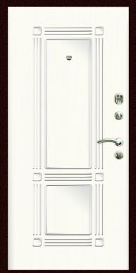Входная дверь Титан Мск,  П-12, ясень белый
