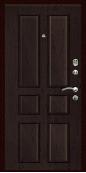 Входная дверь Титан Мск,  К-9, венге тисненый