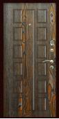 Входная дверь Титан Мск,  К-12, дуб шоколад