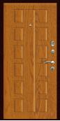 Входная дверь Титан Мск,  П-8, дуб натуральный