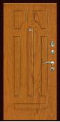 Входная дверь Титан Мск, К-2, дуб натуральный