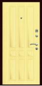 Входная дверь Титан Мск,  П-11, клен тисненый