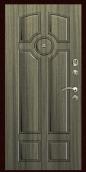 Входная дверь Титан Мск,  К-3, серый сандал