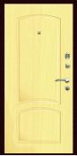 Входная дверь Титан Мск,  К-10, клен тисненый