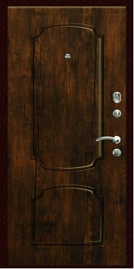 Входная дверь Титан Мск,  К-11, мореный дуб
