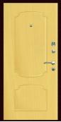 Входная дверь Титан Мск,  П-3, клен