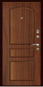 Входная дверь Титан Мск,  К-6, орех тисненый