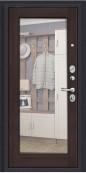 Дверь Титан Мск - Урбан, Темная Вишня/Wenge Veralinga с зеркалом