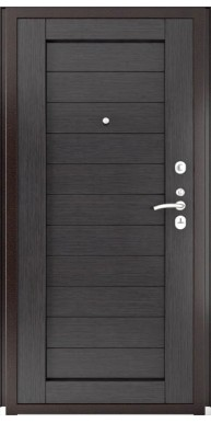 Дверь Титан Мск - Lux-3 A, Медный антик/ Экошпон ЛУ-21 Венге