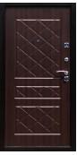 Входная металлическая дверь Титан Мск Eco, Медный антик / Венге