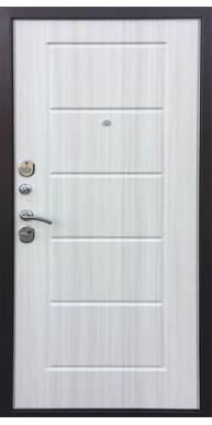 Входная металлическая дверь Степ, Медный антик/ Сандал белый