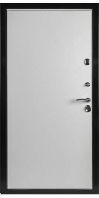 Входная металлическая дверь Верона, Дуб филадельфия шоколад К-1 / Софт милк