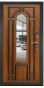 Входная металлическая дверь, Лацио, Золотой дуб стеклопакет тонированный
