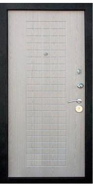 Входная металлическая дверь, Реал, Венге / Беленый дуб