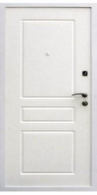 Входная металлическая дверь, Х4, Белый матовый / Белый матовый