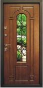 Утепленная входная дверь Титан Мск Top Staller Лацио Дуб золотой патина черная/ Дуб золотой патина черная
