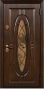 Утепленная входная дверь Титан Мск Top Staller Монарх Дуб темный/ Дуб темный