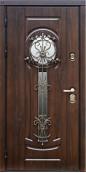 Утепленная входная дверь Титан Мск Top Staller Сицилия Дуб темный/ Дуб темный
