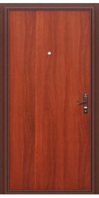 Титан Мск Металлическая дверь Стройгост медный антик / Итальянский орех