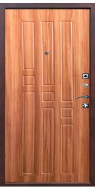 Дверь Титан Мск, Гарда - Медный антик / Дуб рустикальный