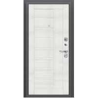 Дверь Титан Мск - Porta S 109.П29, Антик серебро / Bianco Veralinga