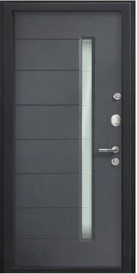 Металлическая дверь Top M 36, Серый металлик / Антрацит VINORIT
