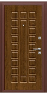 Дверь Титан Мск - Нова, Антик медь П 26 / Французский дуб