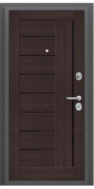 Дверь Титан Мск - Porta S 109.П29, Антик серебро / Wenge Veralinga