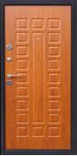 Титан Металлическая дверь Yoshkar медный антик / золотистый дуб