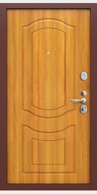 Титан мск входная дверь Groff Р2-200 П-2, антик медь / светлый орех