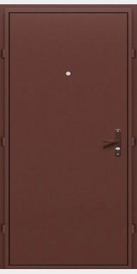 Входная дверь Стройгост металл / металл, медный антик