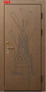 Накладка на дверь № 171