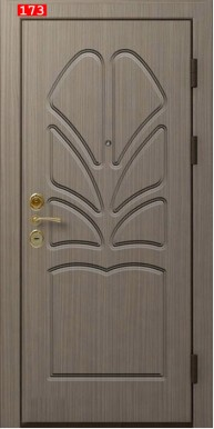 Накладка на дверь № 173