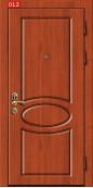 Накладка на дверь № 012