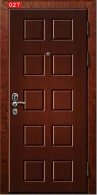 Накладка на дверь № 027