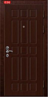 Накладка на дверь № 036