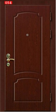Накладка на дверь № 054