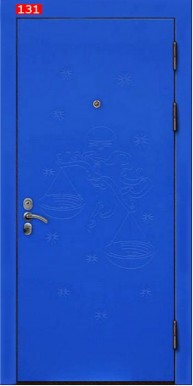 Накладка на дверь № 131